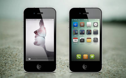 My iPhone 4 by FloStyler0408
