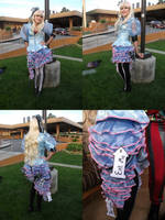 Mad T Party Alice Cosplay Costume Dress by Lillum