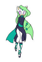 ADOPTABLE::Meloetta:Hedgehog by Rayne-Is-Butts