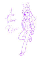 SKETCH::Ace.Trainer.Keira by Rayne-Is-Butts