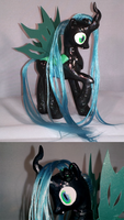 Custom Pony: Queen Chrysalis by Rayne-Is-Butts