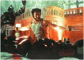 Wolverine by Gothallica