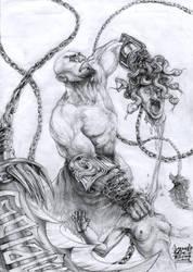 Kratos by Gothallica