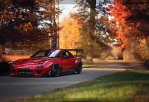 Extreme RX7 with a hint of stance by ATC-Design