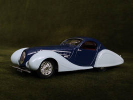 Talbot-Lago 1938 1:43 by Abrimaal