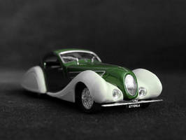 Talbot-Lago 1938 1:43 modified digitally by Abrimaal