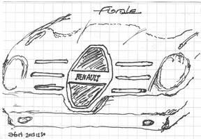 Renault Florale (R) Sketch by Abrimaal
