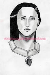 Pocahontas Sketch by bowsprit