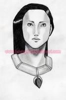 Pocahontas Sketch by bowsprit