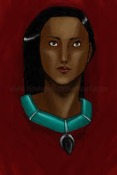 Pocahontas by bowsprit
