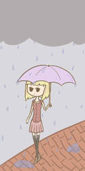 Rainy day by Chococatgirl16