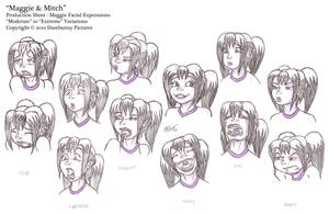 Maggie Expressions by Dasutobani