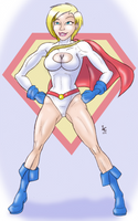 30 Girls 8 - Power Girl by Dasutobani