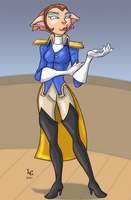 30 Girls 18 - Captain Amelia by Dasutobani