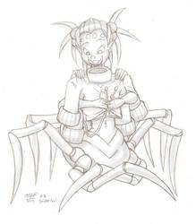 30 DMGC 6 - Spider-Girl by Dasutobani