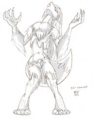 30 DMGC 22 - Werewolf by Dasutobani