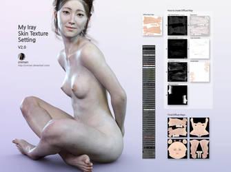 My Iray Skin Texture Setting v2.0 by zniman