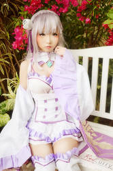 Emilia-cosplay-rezero by kuricurry