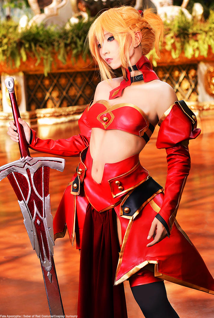 Fate Apocrypha: Mordred by kuricurry