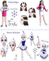 Princess SilverSnow - Victoria Artique by Chibi-Sugar