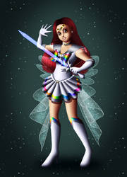 SSX Sailor Super Sailor Silver Star by Chibi-Sugar
