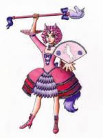 Pink Unicorn Magical Girl by Chibi-Sugar