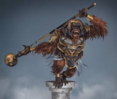 Armored Orangutan by SilviuSadoschi