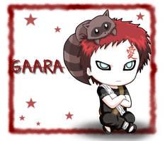Naruto: Chibi Gaara by The-PirateQueen