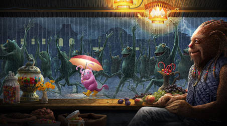 Rain Parade by JasperHolland