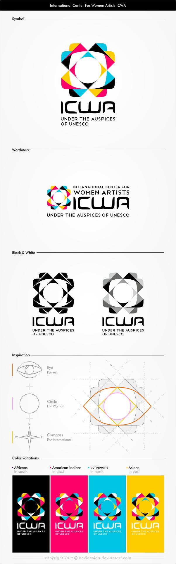 International Center for Women Artists ICWA by Navidesign