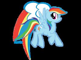 Rainbow Dash by mlpAzureGlow