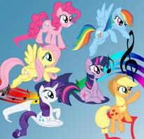 MLP Friendship is music by mlpAzureGlow