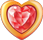 Heart ruby in gold 40px by EXOstock