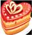 Heart cake 1 50px by EXOstock