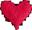 Wire heart 30px by EXOstock