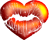 Heart kiss 40px by EXOstock