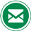 Email icon flat round 45px by EXOstock