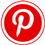 Pinterest icon flat round 45px by EXOstock