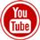 Youtube icon flat round 45px by EXOstock