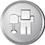 Digg icon volumetric round 45px by EXOstock