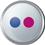 Flickr icon volumetric round 45px by EXOstock