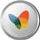 MSN icon volumetric round 45px by EXOstock