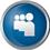Myspace icon volumetric round 45px by EXOstock