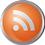 RSS icon volumetric round 45px by EXOstock