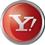 Yahoo icon volumetric round 45px by EXOstock