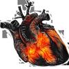 Burning heart 100px by EXOstock