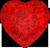 Ruby heart 50px by EXOstock