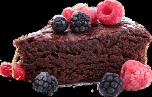 Chocolate cake 3 clipart 4400px 300dpi by EXOstock