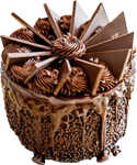Chocolate dessert 150px by EXOstock