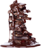 Chocolate mountain in syrup 70px by EXOstock